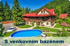 Ubytování s venkovním bazénem
