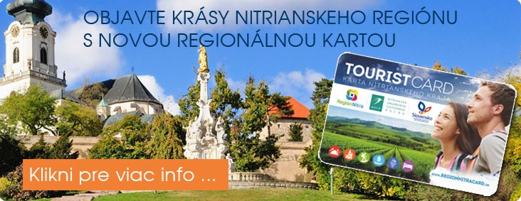 Tourist card Nitra