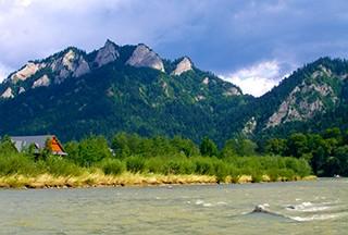 Pieniny National Park in Slovakia