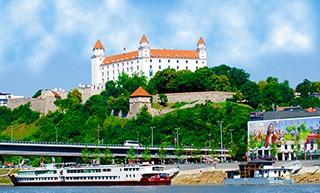 Bratislava - the capital of Slovakia