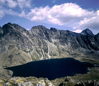Great Hincovo Tarn in High Tatras