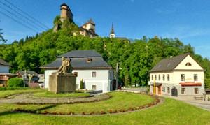 Oravský Podzámok (centrum)