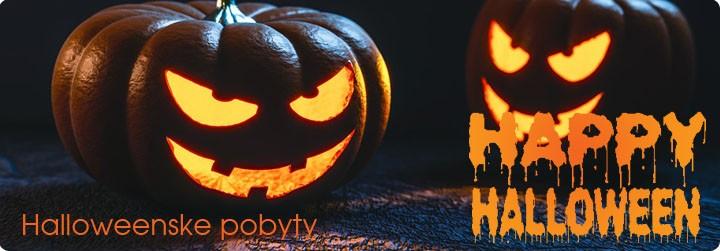 Halloweenske pobyty