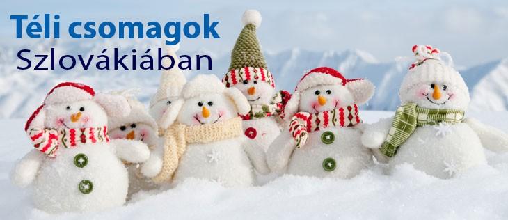 Téli csomagok Szlovákiában