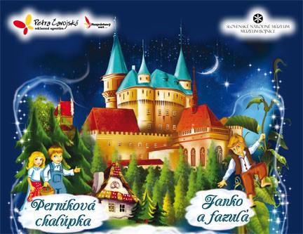 Moje najlmilšie rozprávky na Bojnickom zámku
