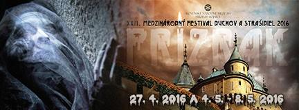 Medzinárodný festival duchov a strašidiel 2016