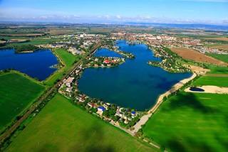 Sunny lakes in Senec