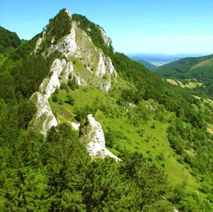 White Carpathians - Vrsatec cliffs