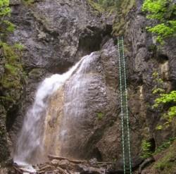 Roklina Piecky - Veľký vodopád