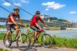 Bratislavský kraj - cyklisti v Bratislave