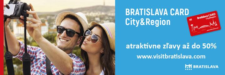 Bratislava Card - atraktívne zľavy