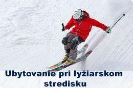 Ubytovanie pri lyžiarskom stredisku