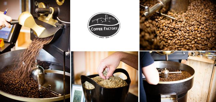 Coffee Factory - pražiareň kávy