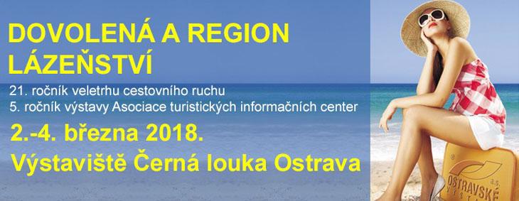 Veltrh Dovolená a Region, Lázeňství 2018