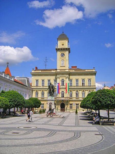 Mesto Komárno - Klapkovo námestie