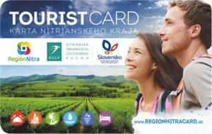 Tourist Card - Karta Nitrianskeho kraja