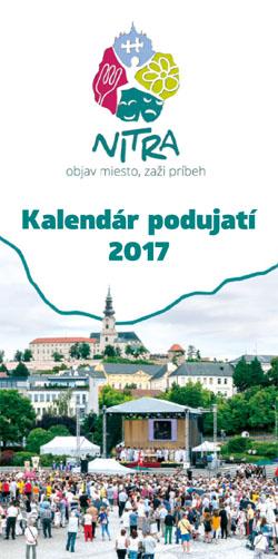 Kalendár podujatí 2017