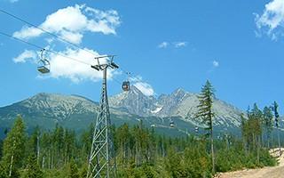 Kabínková Lanovka v Tatranskej Lomnici