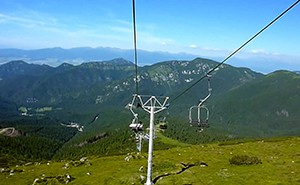 Chairlift on Chopok