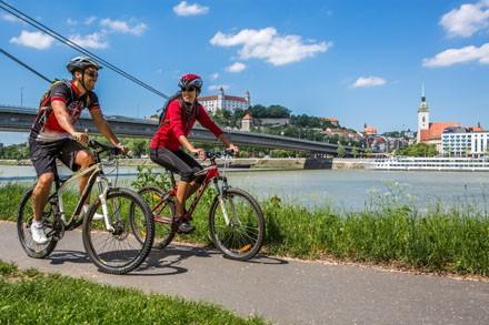 Cyklisti v Bratislave
