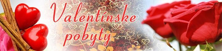 Valentínske pobyty na Slovensku