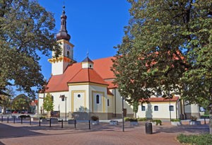 Stupava - kostol