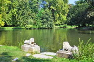 Zámocký park v Stupave