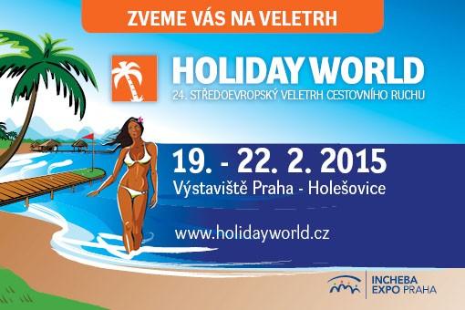 Holiday World Praha 2015