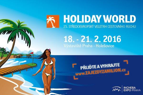 Holiday World Praha 2016