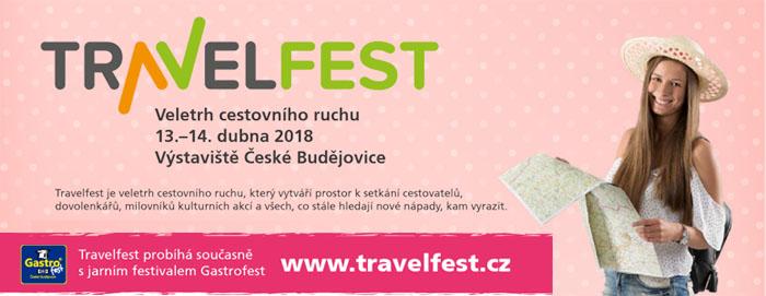 Travelfest 2018 České Budějovice