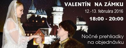 Valentín na zámku 2016