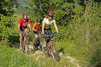Rodinná cykloturistika v Malej Fatre
